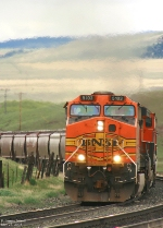 BNSF 5103 diesel vapors